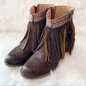 Circle G Fringe Boots